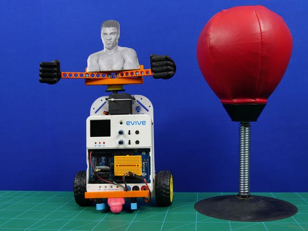 Boxing Robot Using Arduino Embedded Platform