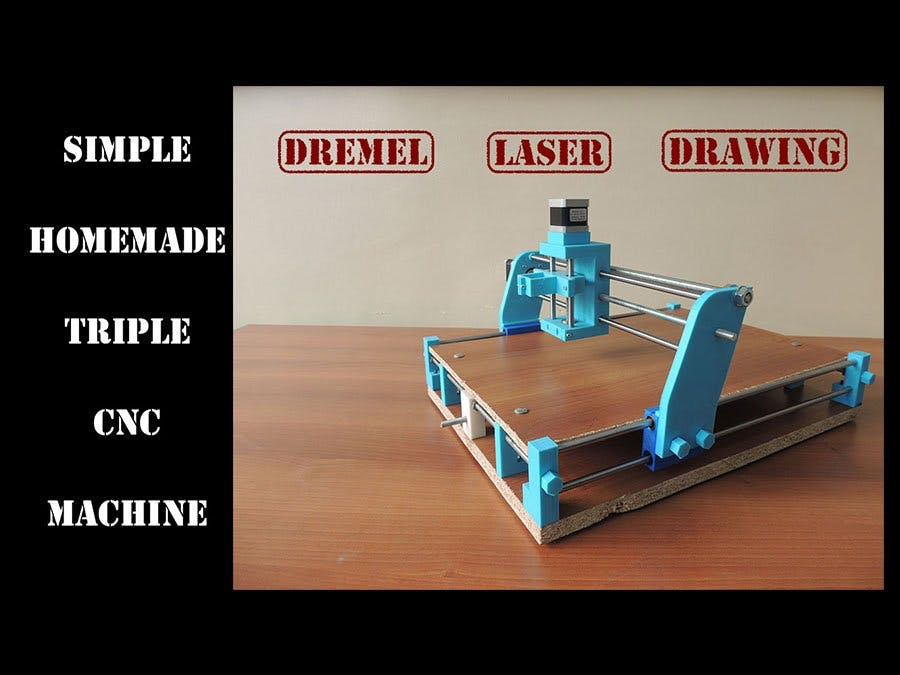 Triple CNC Machine - Arduino Project Hub