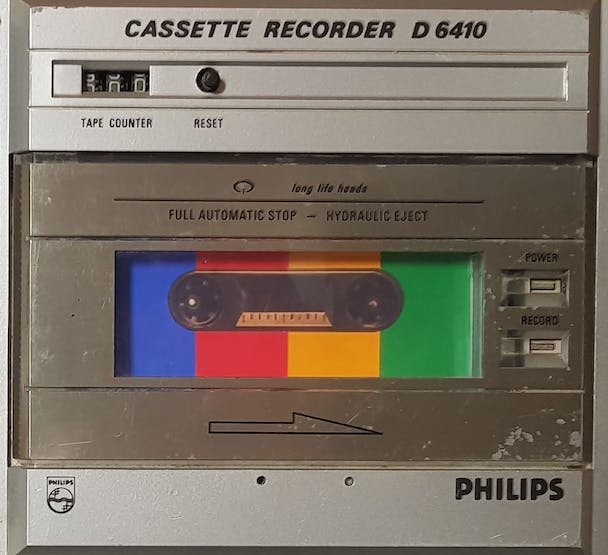 I remember when the internet was on cassette
