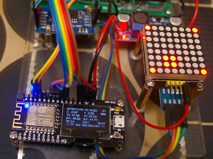 ESP Solar Tracker - Revolutions - Hackster io