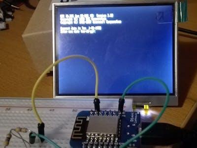 IBM PC-XT Emulator on an ESP8266