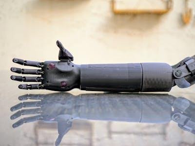 Prótesis Mioeléctrica de mano