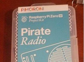 Project kit for the Raspberry Pi Zero W Pirate Radio