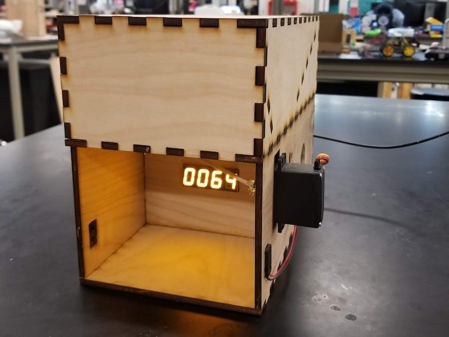 IR Breakbeam Candy Dispenser with Zelda Music - BeagleBoard Projects