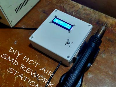 DIY SMD Rework Station
