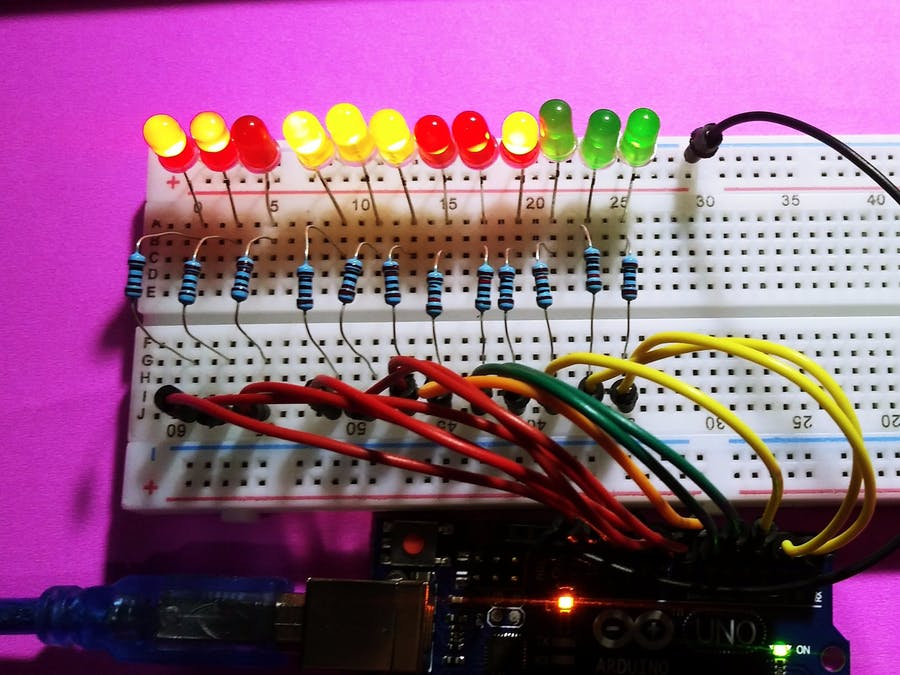 LED Chaser - Arduino Project Hub