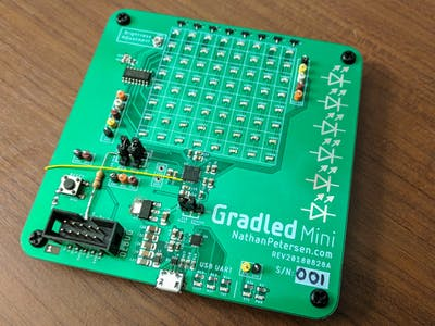 Gradled Mini: Modular Discrete LED Display