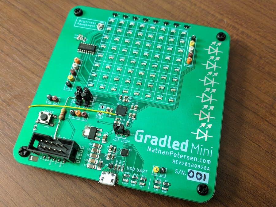 Gradled Mini: Modular Discrete LED Display