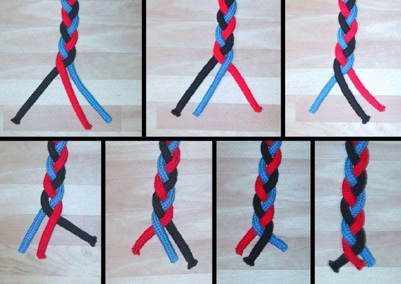 Optimal Cord Braiding Example (Credit: BoatUS)