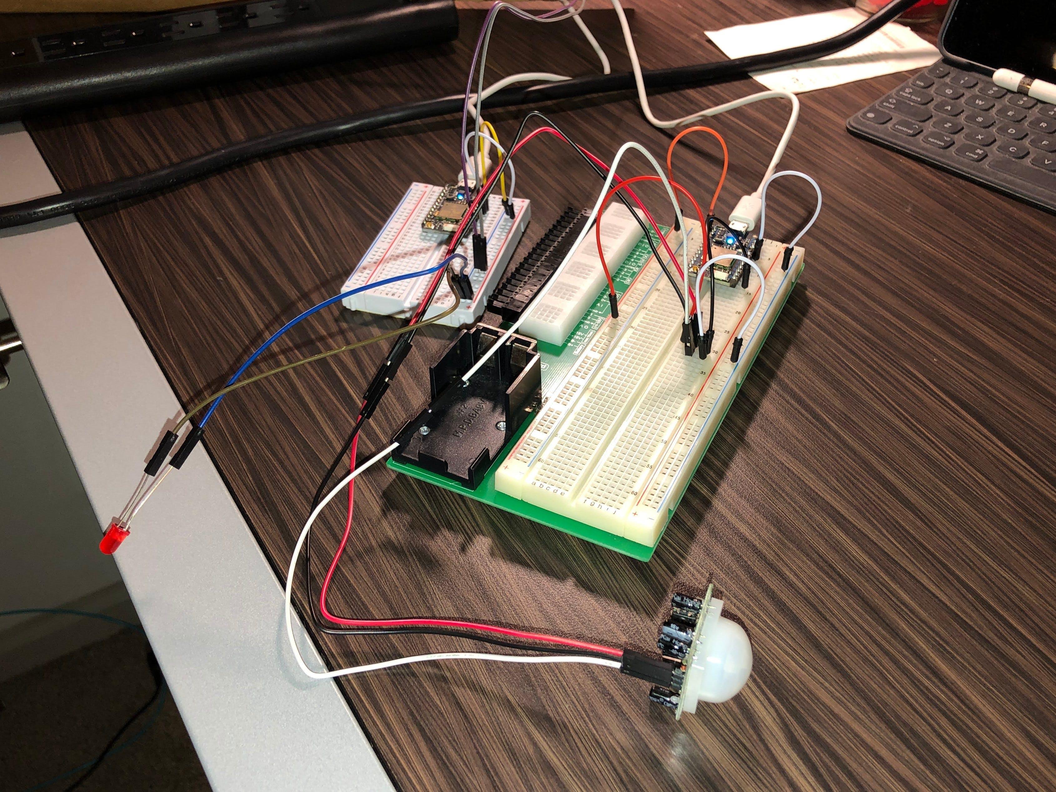 IoT Home Security Motion Sensor (Swansonator)
