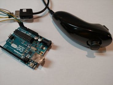 Arduino: Wii Nunchuck Full Functionality