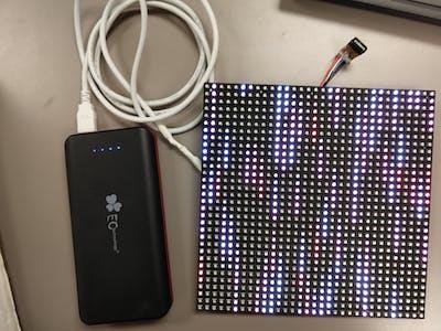 LED Matrix Graduation Cap