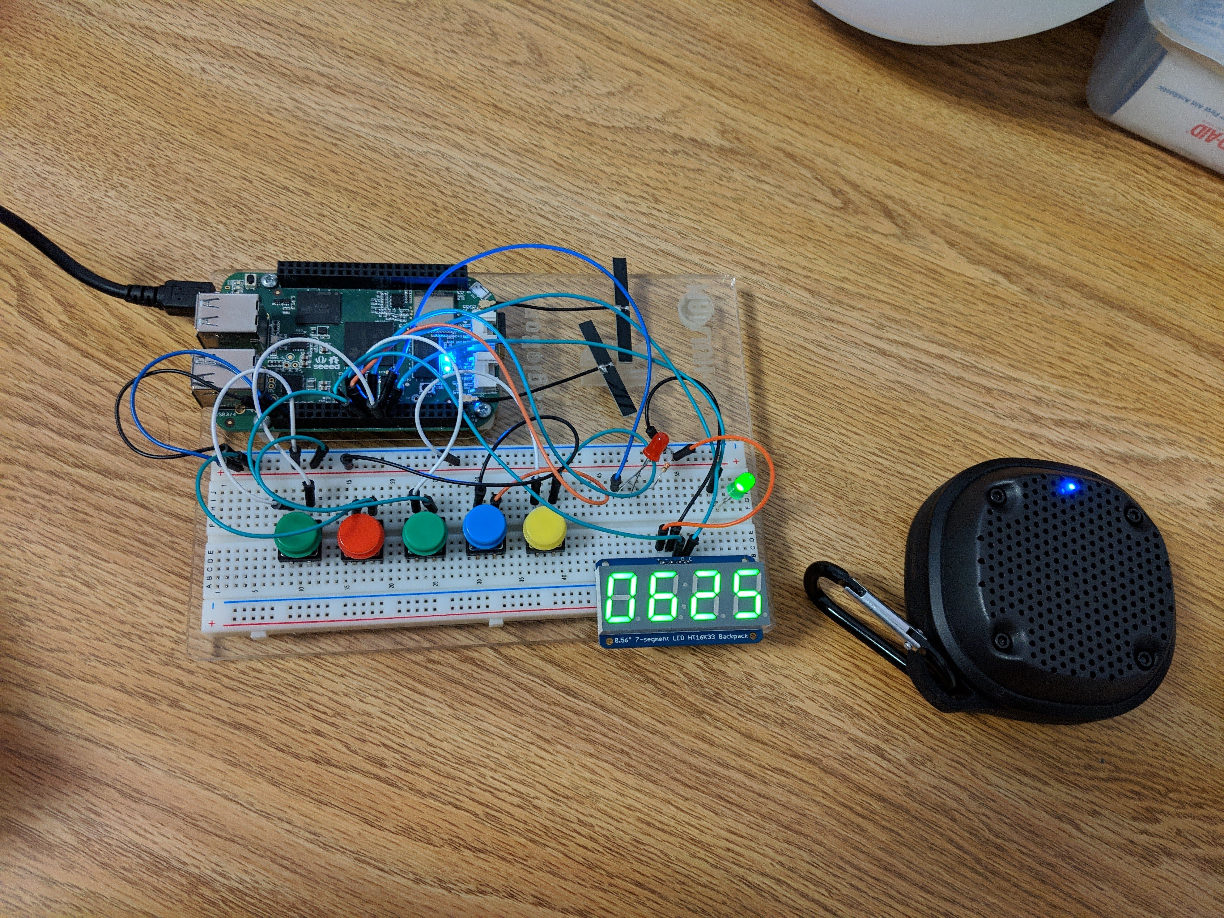 ECE497 Project: Alarm with Remote Speaker