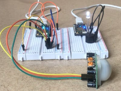 MEGR 3171 Fall 2018 - Security Motion Sensor