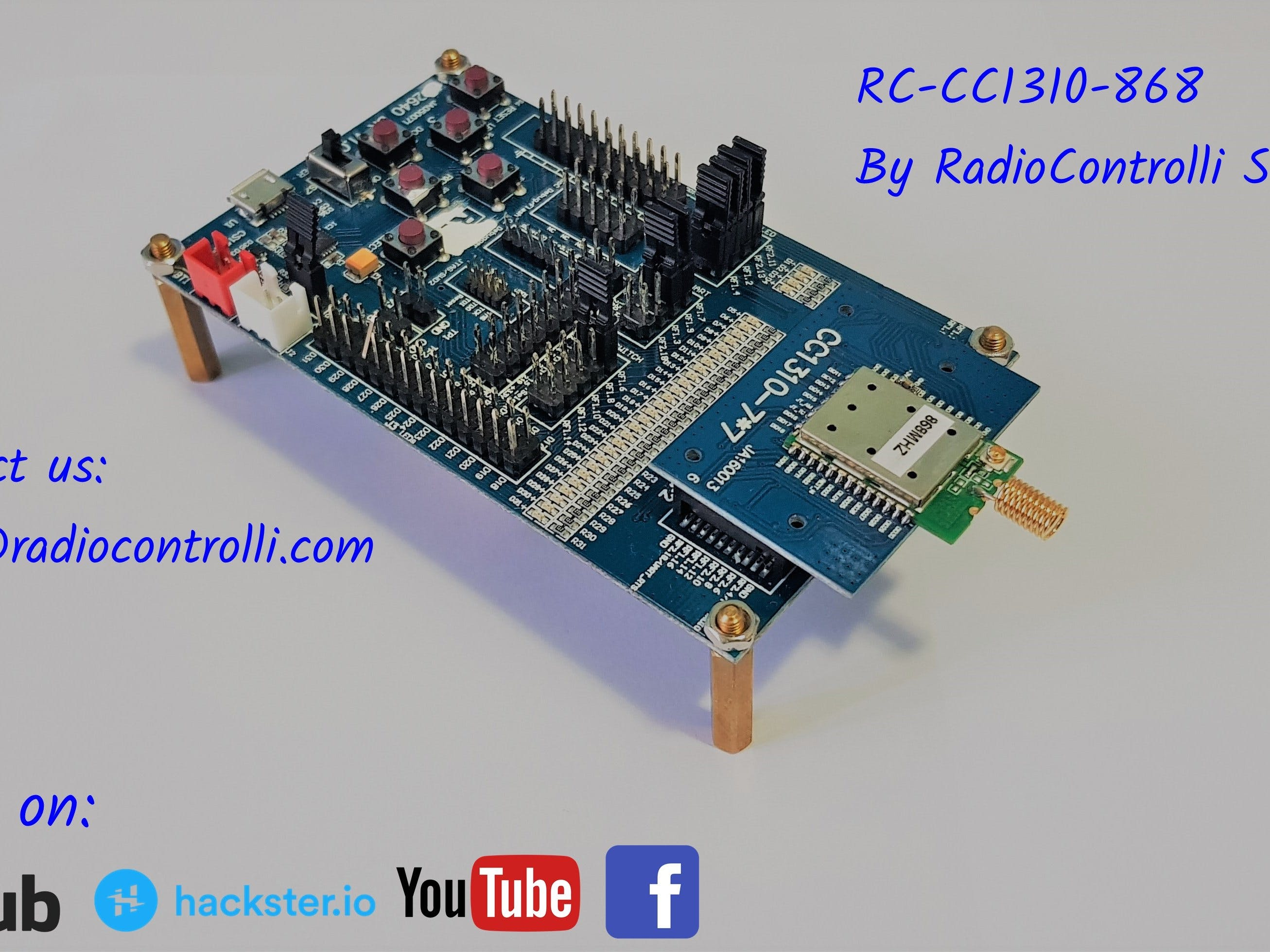 TI-RTOS: Long Range Mode with RC-CC1310-868