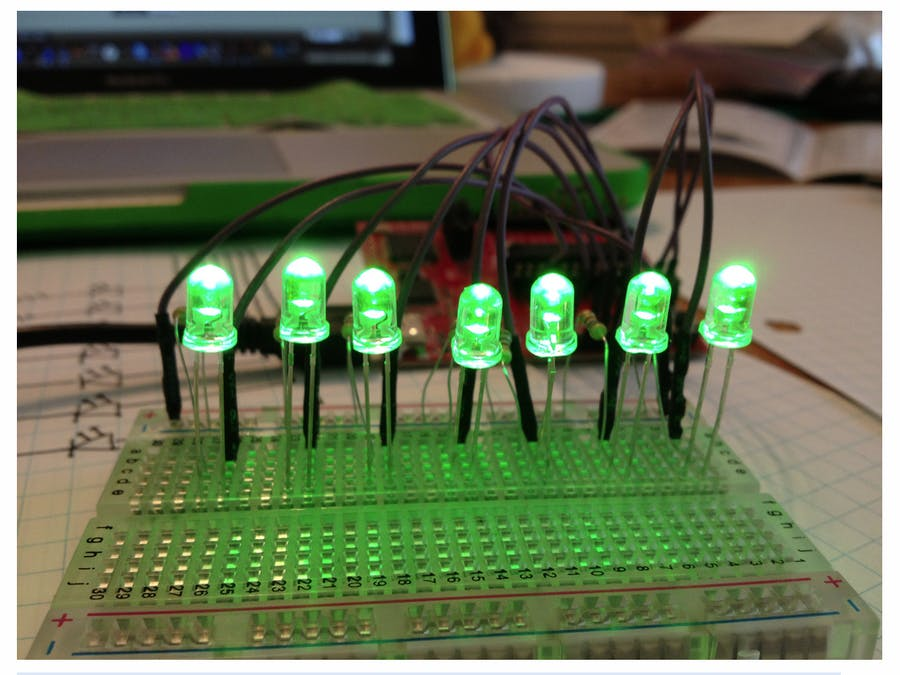 Blinking LEDs with MSP430 and Energia