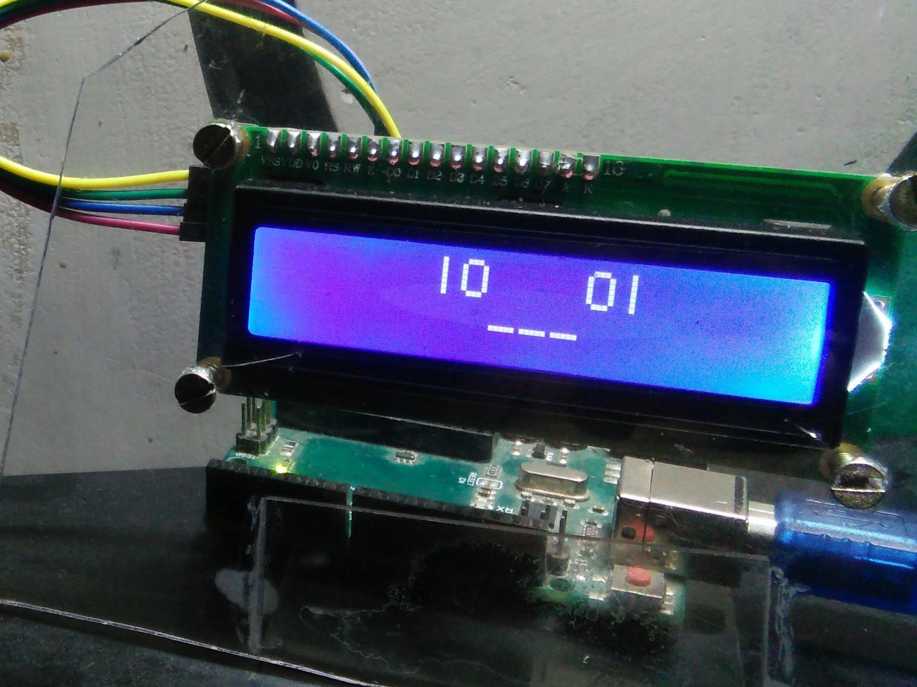 Ike, the Liquid Crystal Display Robo