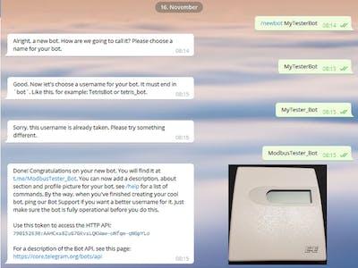 Environmental Sensing Using a Bot