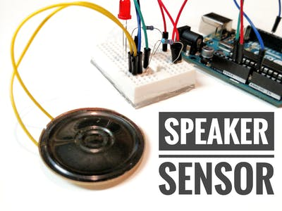 DIY Shock Sensor with a Speaker