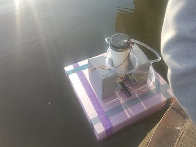 Automated Lake Environment Data Collection Probe