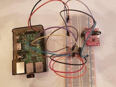 Live Analog Sensor Graph