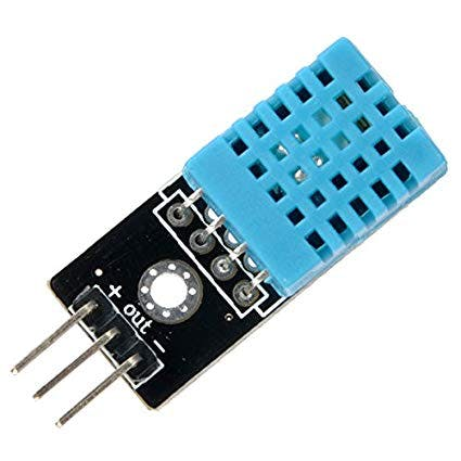 DHT11 Temperature & Humidity Sensor (3 pins)