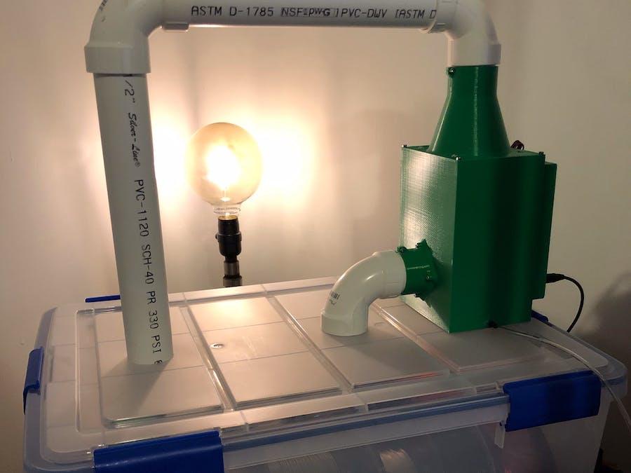 Peltier Dehumidifier for 3D Printer Filament