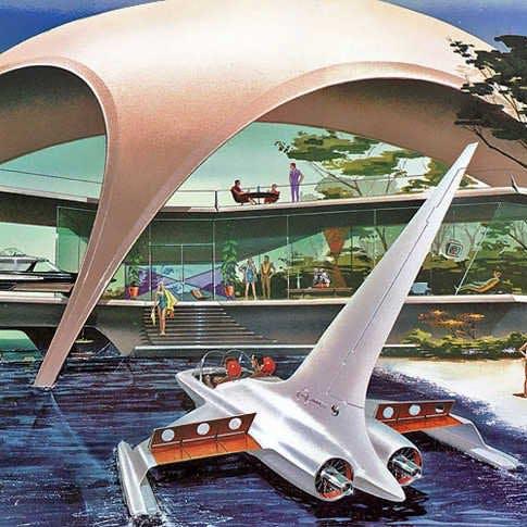 Retro futurism rmy6661l4d