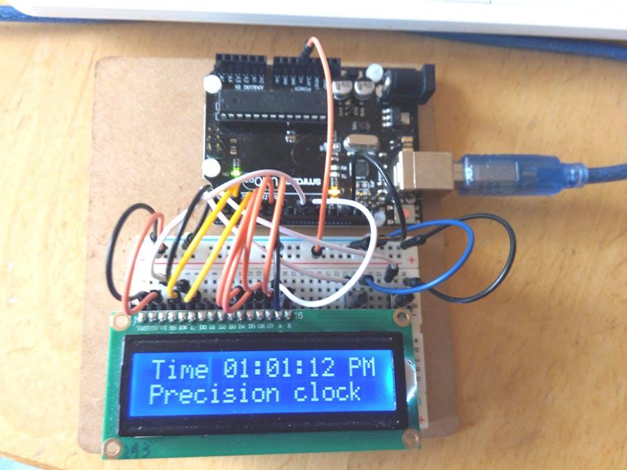 Simplest UNO Digital Clock Ever