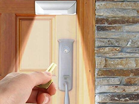 Door Lock with Light Sensor