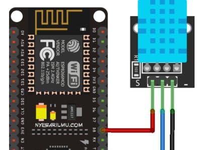 DHT11 Sensor Interfacing with NodeMCU - Hackster io