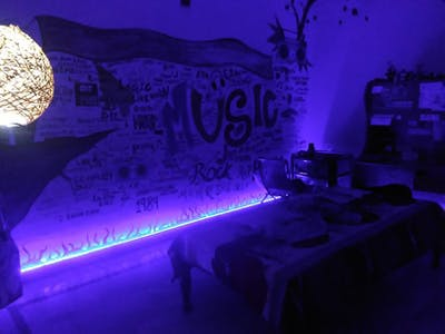 Music Reactive LED Strip with Microphone Module