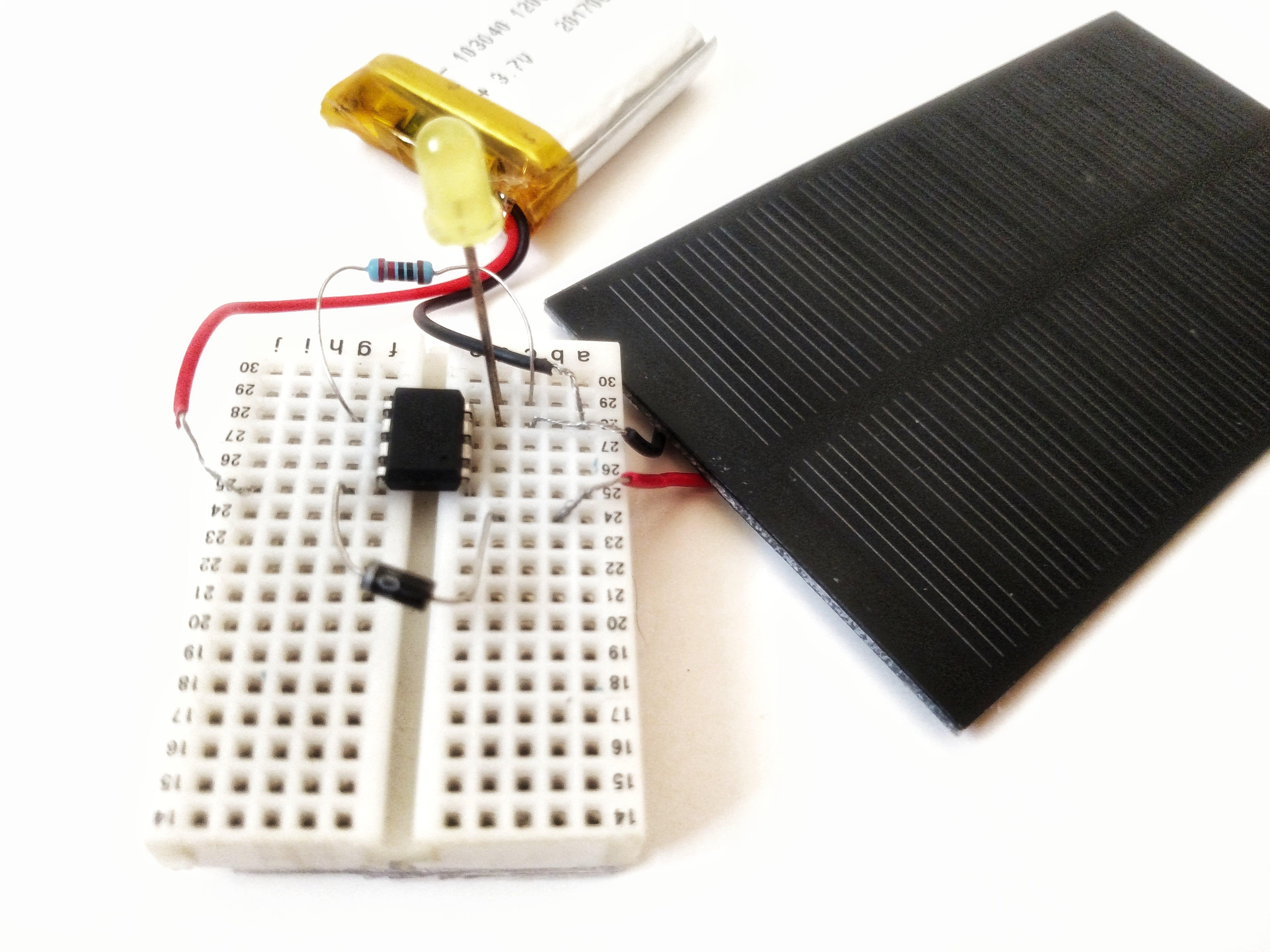 Solar Powered ATtiny85