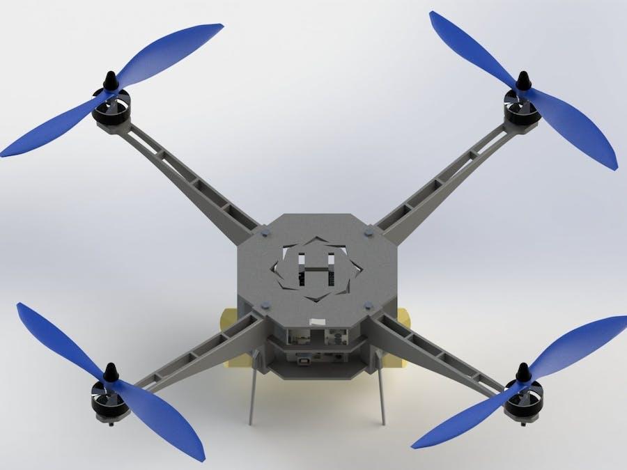 Helios - Autonomous Quadcopter Based on Arduino