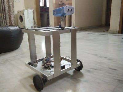 Arduino-Based Butler Robot