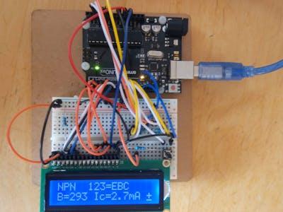 ArduTester V1.13: The Arduino UNO Transistor Tester