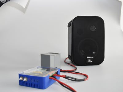 Raspberry-Pi based Audio Player (TAPAS as Class D amplifier)