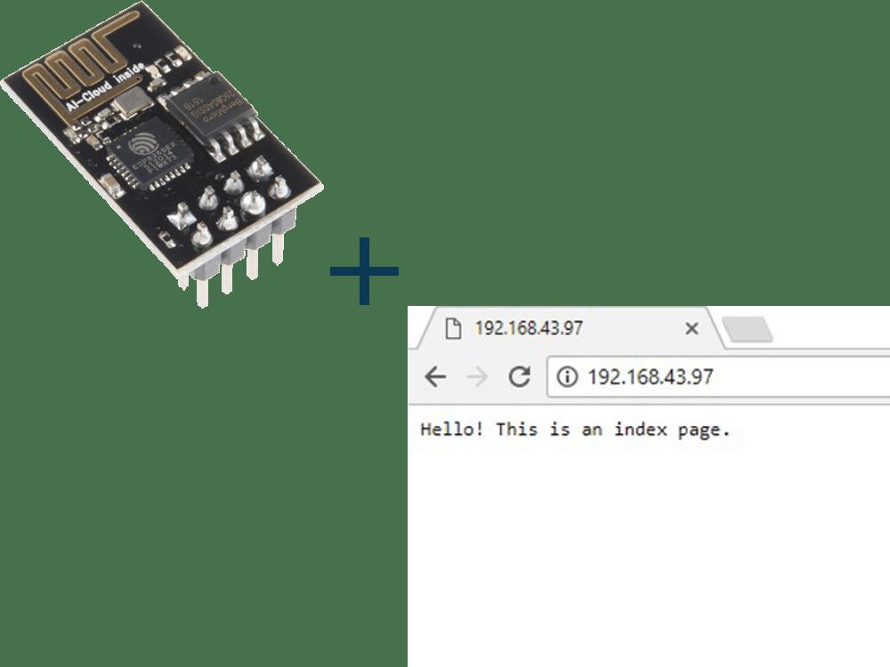 Create ESP8266 Web Server