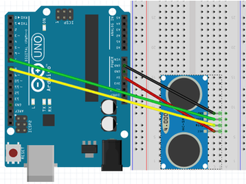 Project 002: Arduino HC-SR04 Ultrasonic Sensor Project