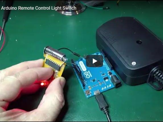 Arduino Wireless Remote Light Switch - Arduino Project Hub