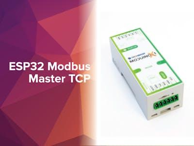 ESP32 Modbus Master TCP