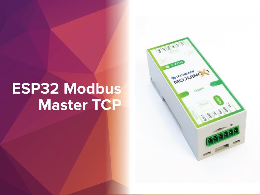 ESP32 Modbus Master TCP - Hackster io