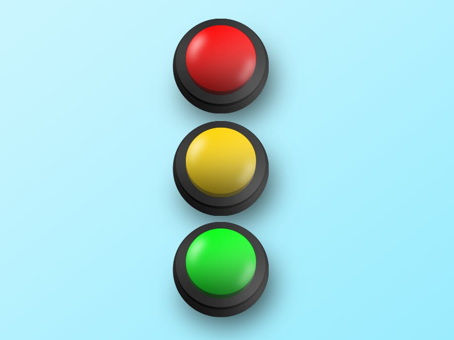 Red Light Green Light Buttons
