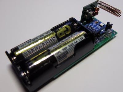 ATtiny85 Based Weather Sensor