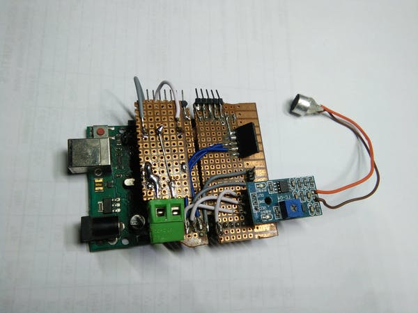 Clap Switch With Relay Arduino Project Hub