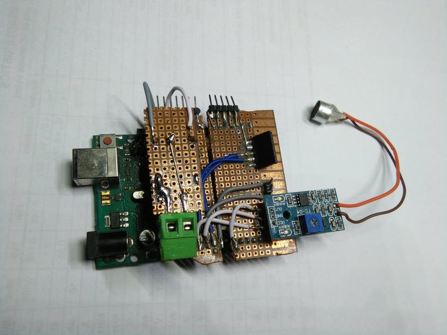 Clap Switch with Relay - Arduino Project Hub