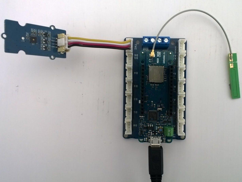 Arduino MKR WAN 1300 LoRa Field Gateway Client