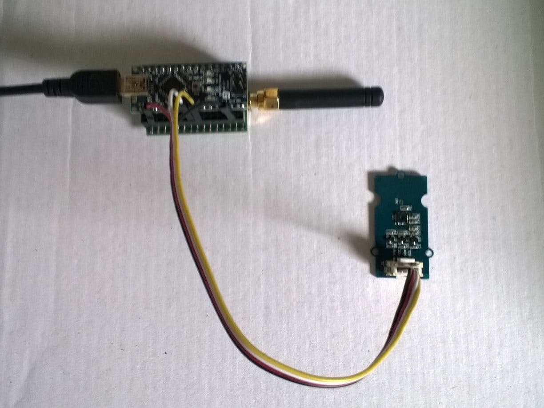 Arduino Nano Easy Sensors Field Gateway Client