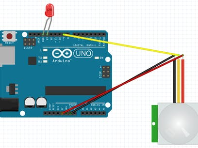 Project 004: Arduino PIR Motion Sensor Project - Hackster io