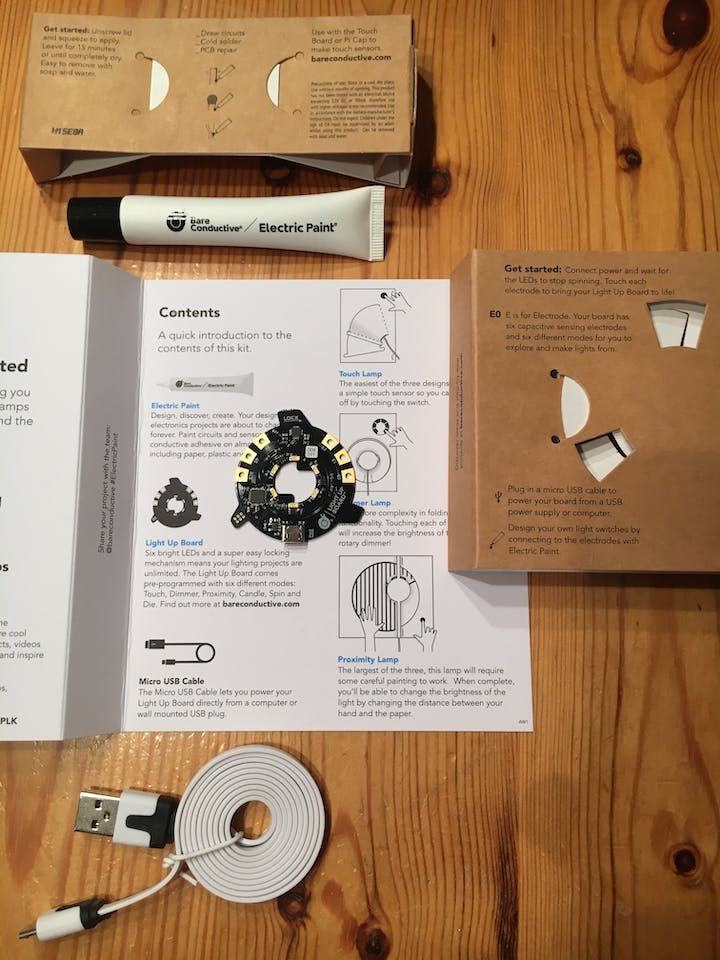 Electric Paint Lamp Kit - Hackster io